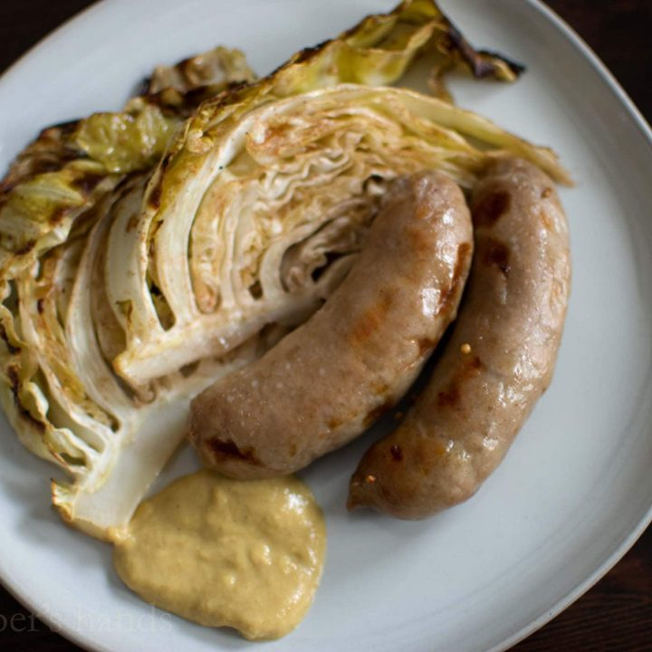 Irish Sausage and Cabbage Dinner