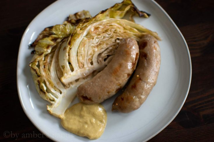 Easier Than Corned Beef: Irish Sausage and Cabbage -by amber's hands-