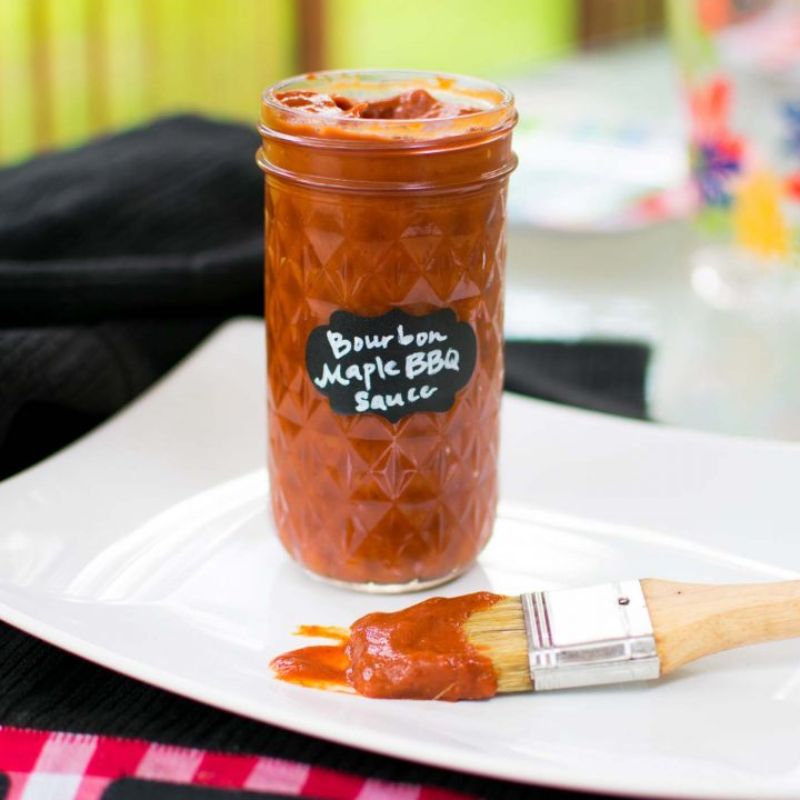 Maple Bourbon Keto Barbecue Sauce -by amber's hands-