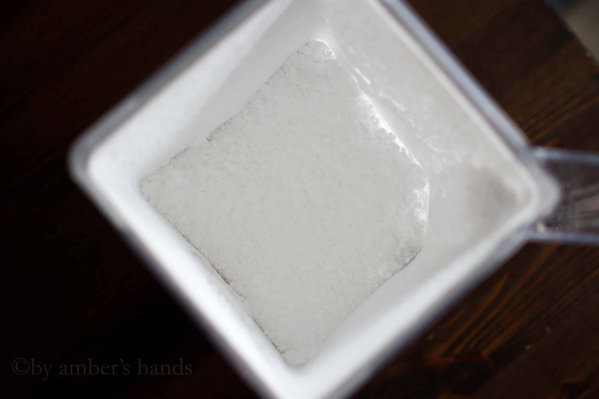 Low Carb Sweetener blend powdered in blender