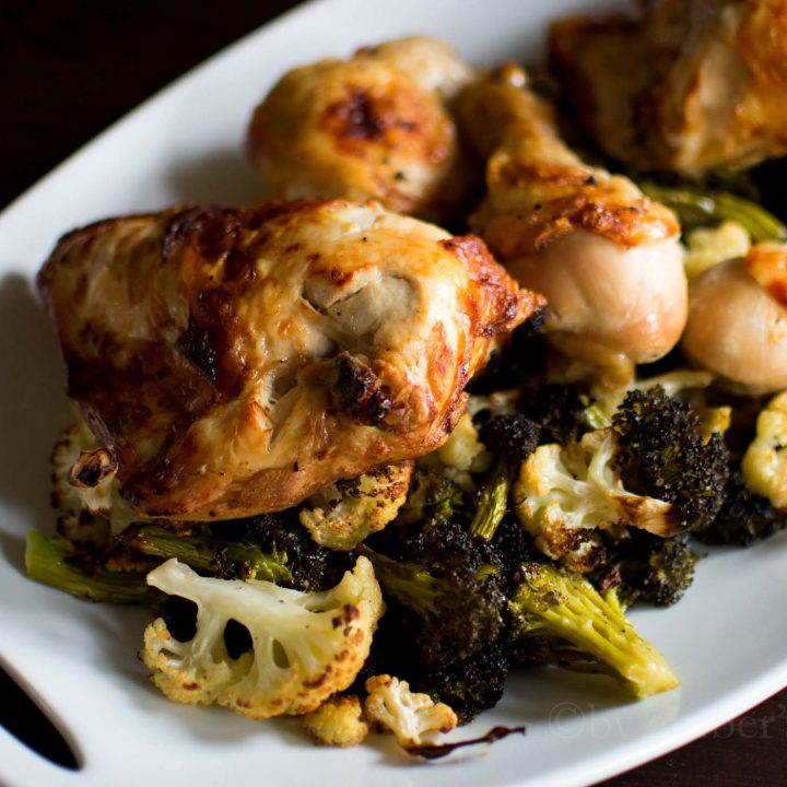 Roast Chicken and Veggie Sheet Pan Dinner