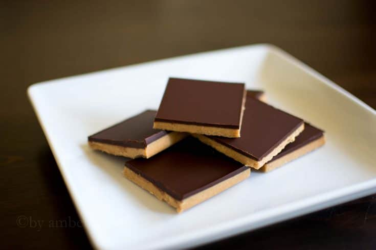 Low Carb Chocolate Peanut Butter Bars