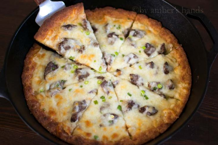 The Best Low Carb Pizza