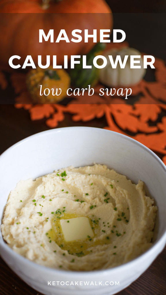 My kids like these better than mashed potatoes! #lowcarb #keto #dinner #swap #holidays