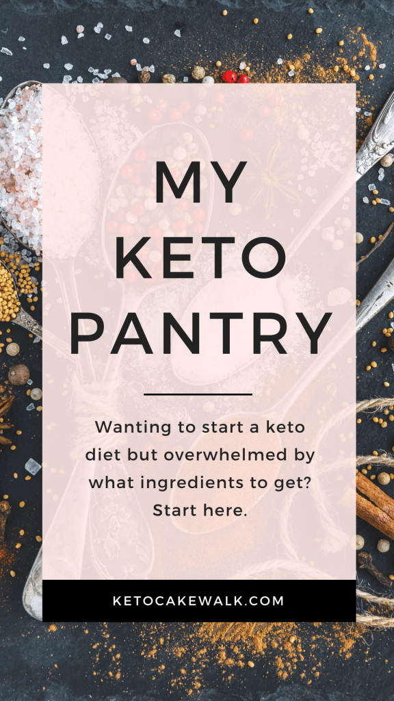 What ingredients do you actually need to start a keto diet? Find out here! #lowcarb #keto #pantry #ingredients