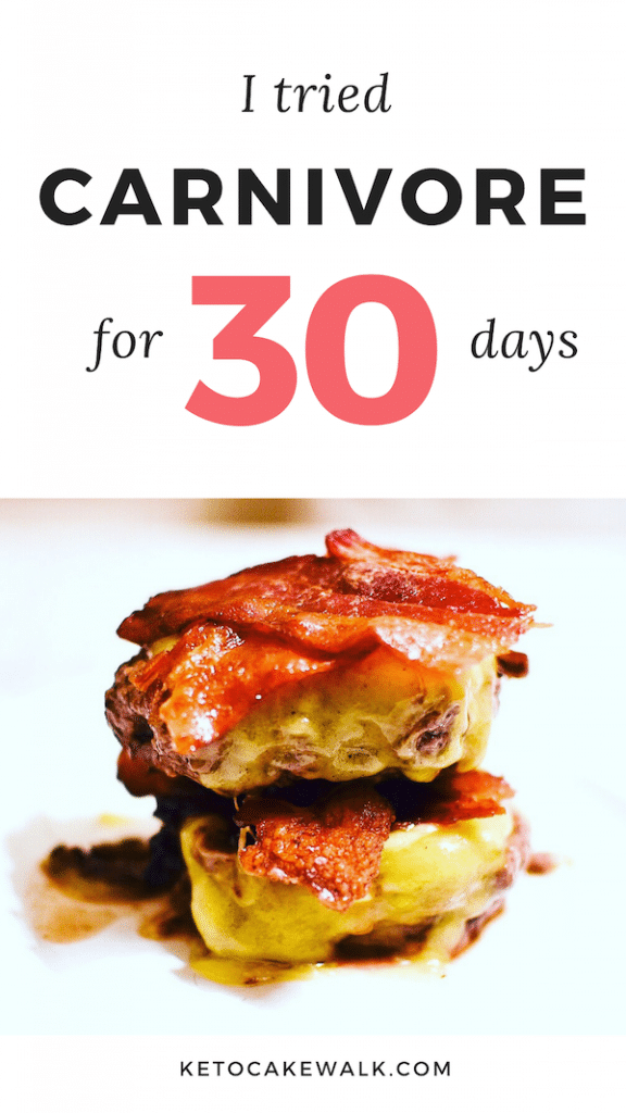 I ate only animal products for 30 days! Want to know what happened? #carnivore #keto #diet