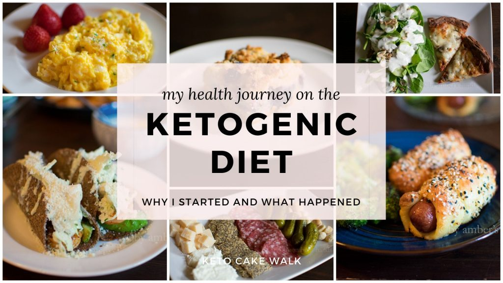 My Health Journey on the Ketogenic Diet -keto cake walk-