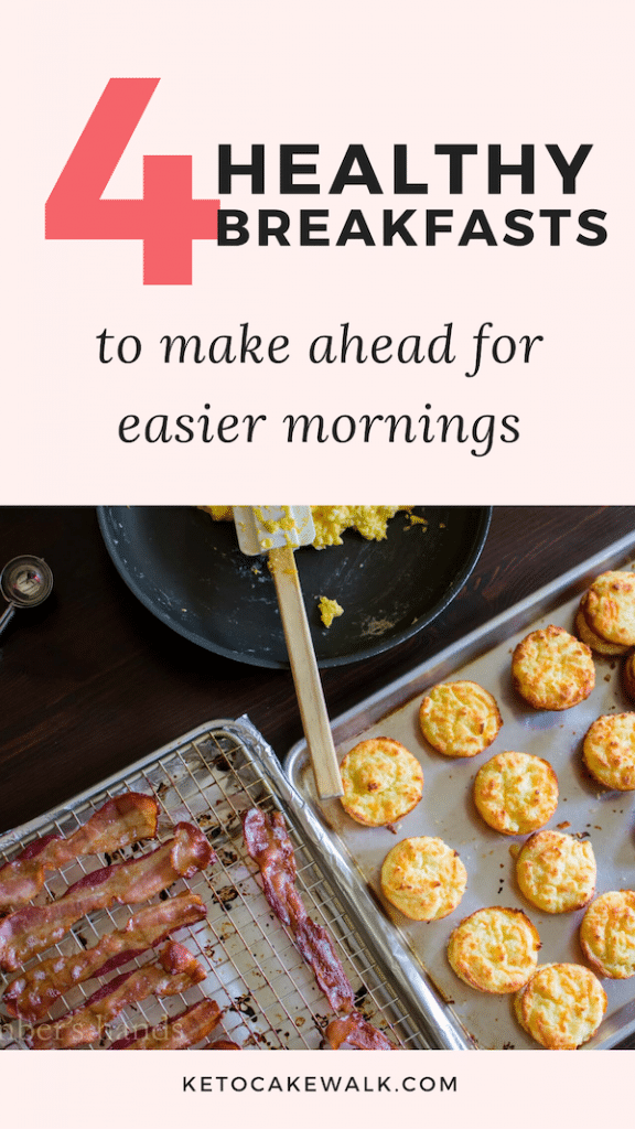 r and make these healthy breakfasts ahead of time and take some stress out of your mornings! #lowcarb #healthy #keto #kids #makeahead
