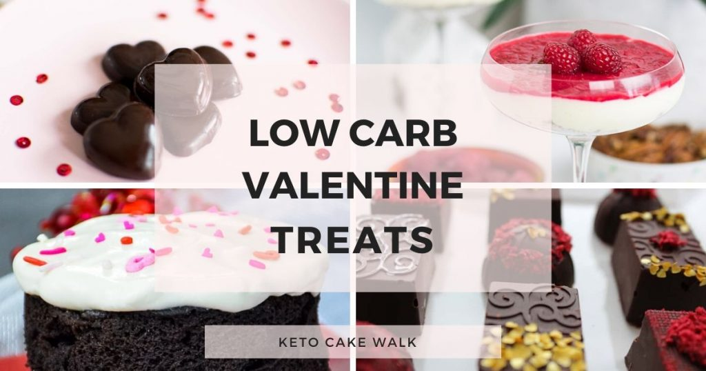 Eight Perfect Keto Valentine's Day Desserts -keto cake walk-