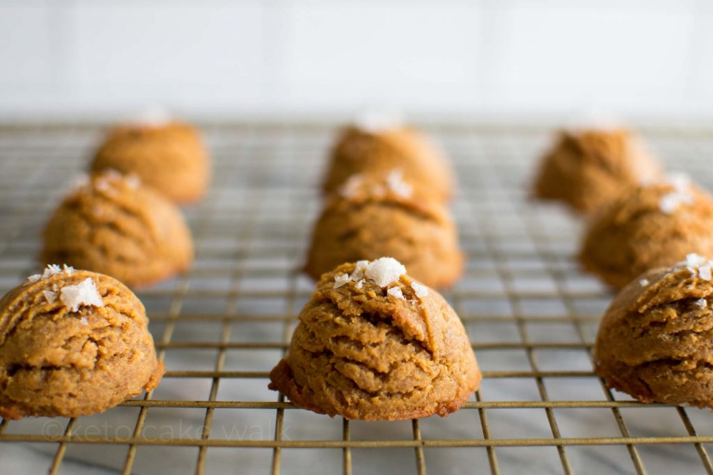 Keto Peanut Butter Cookies -keto cake walk-