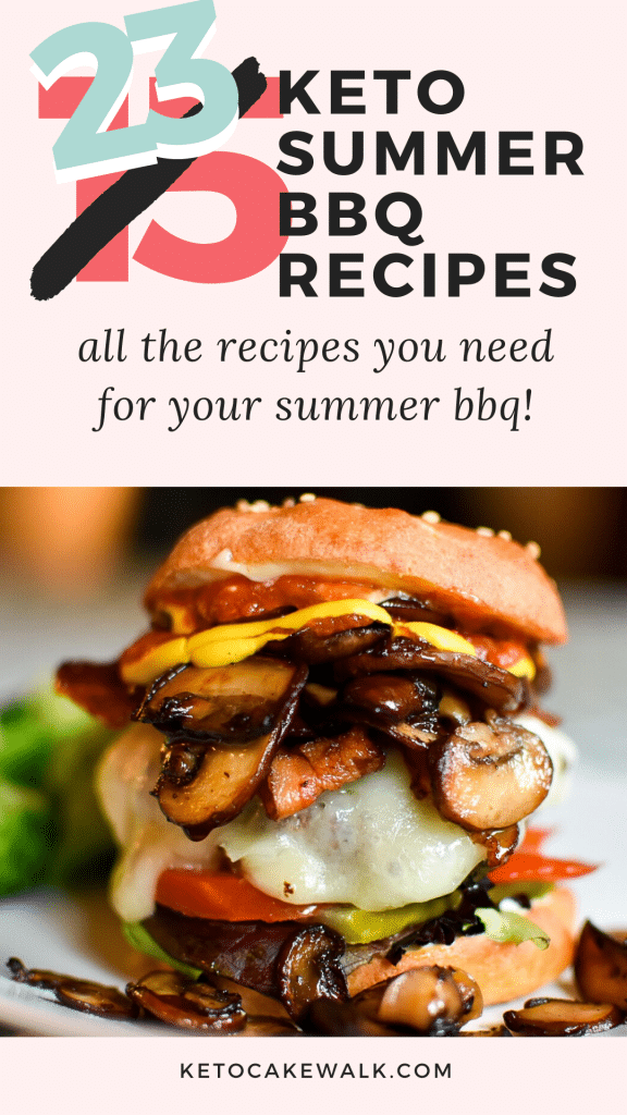 *UPDATED TO INCLUDE EVEN MORE RECIPES!* From main dishes to sides, to drinks and desserts, this list of low carb BBQ recipes has everything you need to celebrate this summer! #summer #bbq #keto #lowcarb #glutenfree #grainfree #4thofJuly #cookout #barbecue #grilling