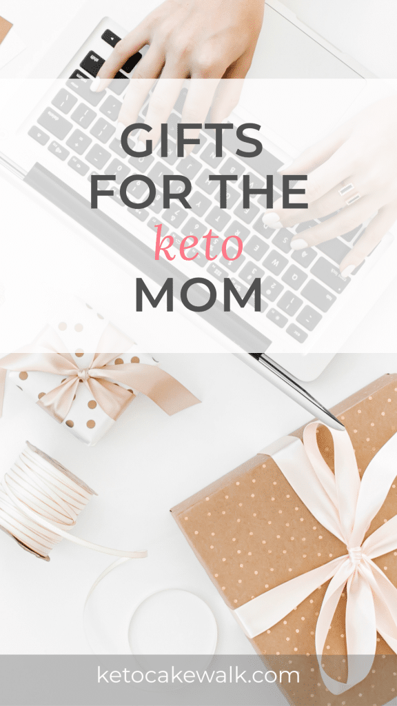 Giving gifts to people who eat a ketogenic diet can present a challenge. But these gifts for keto moms will hit just right! The keto mom in your life will love you for being so thoughtful! #keto #moms #diet #gifts #giftguide #busymoms #ketomoms #ketodiet