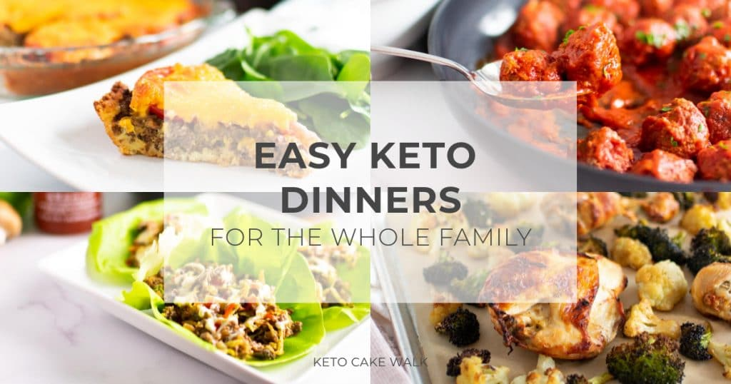 Ham and Cheese Crescent Roll Ups - Easy Keto Dinners for the Whole Family -keto cake walk-