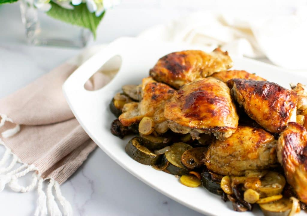 Balsamic Chicken - Low Carb, One Pan Easy Dinner -keto cake walk-